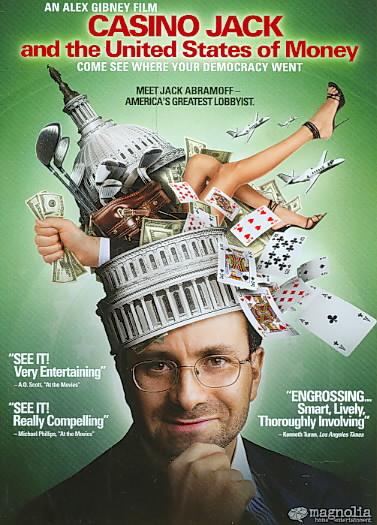 CASINO JACK:UNITED STATES OF MONEY BY GIBNEY,ALEX (DVD)